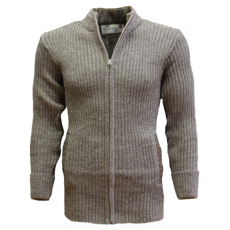 The Weaver Zip Front Cardigan