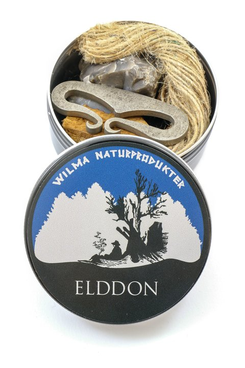 Wilmas Elddon Fire Lighting Kit in a Tin