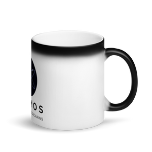 Cosmos Matte Black Magic Mug