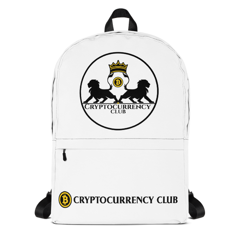 Cryptocurrency Club Backpack