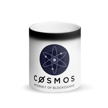 Load image into Gallery viewer, Cosmos Matte Black Magic Mug