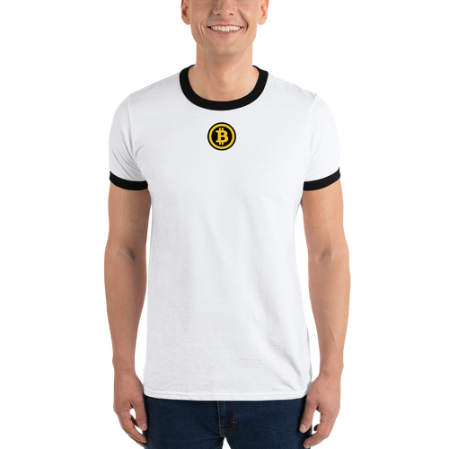 Cryptocurrency Club Tee White and Black