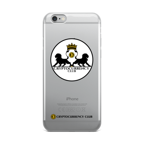 Cryptocurrency Club Iphone Case