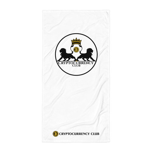 Cryptocurrency Club Towel