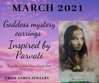 Mystery Goddess earring of the month PRE ORDER