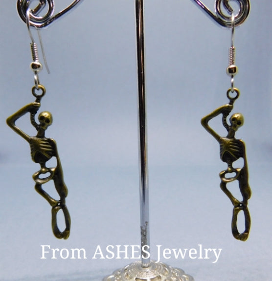 Hanging Skeleton Earrings
