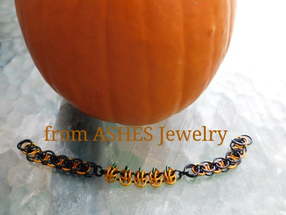 Five Little Pumpkins Bracelet