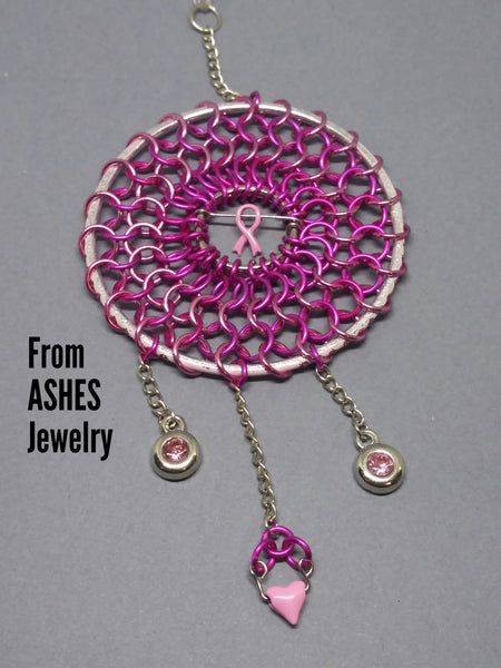 Breast Cancer support Dream Catcher