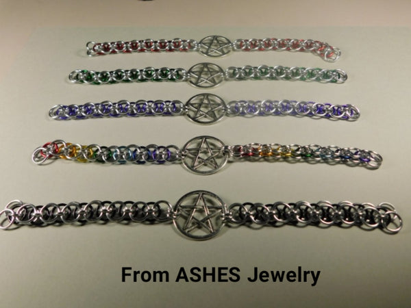 Silver Helm Pentacle Bracelet *2019 BEST SELLER*