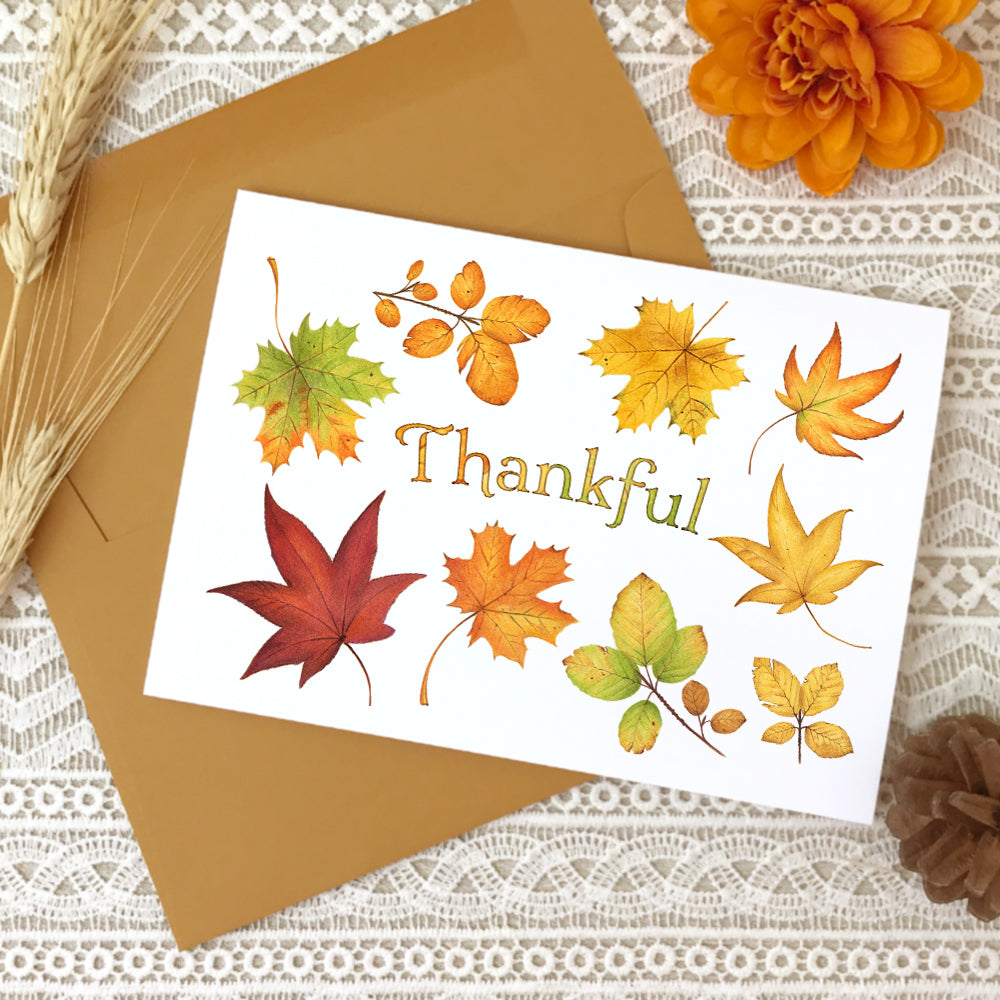 Happy Fall Autumn Greeting Cards