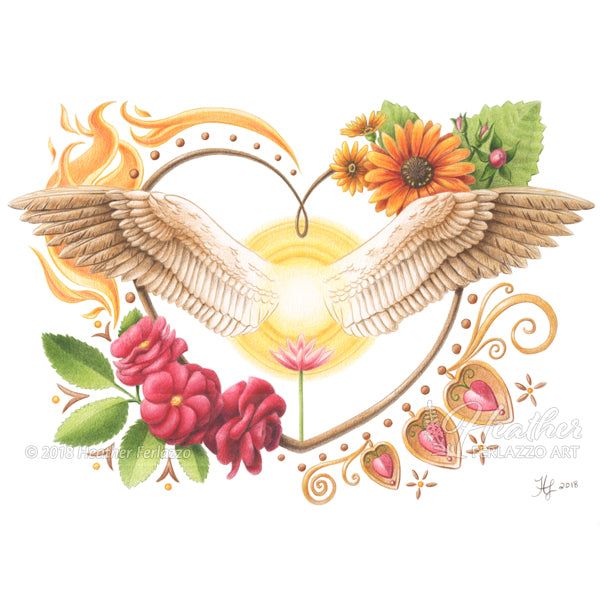 Angel Wings of Love