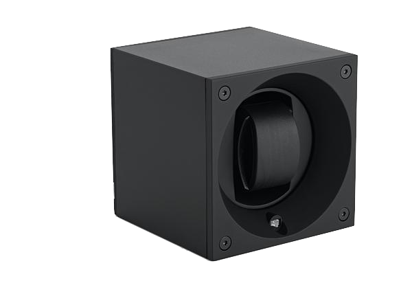 Aluminum Masterbox Single Black Anodized Aluminum