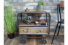 Rustic Industrial Cabinet for keeping heavy items