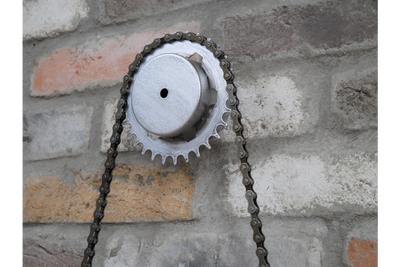 Bike Chain Clock combination of time power and speed