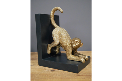 Monkey Book Ends for keeping books with a nice look