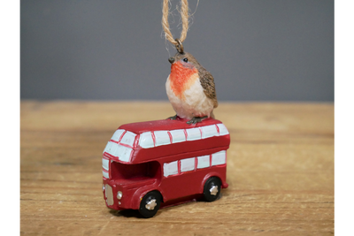 Robin on Bus for progress with a pure mind