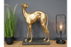 Gold Whippet for nice decoration