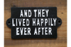 Sign (Ever After) to show happiness and peace