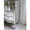 Venetian Style Crystal Mirrored Chest Of Drawers