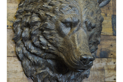 Gorgeous Wall Mounted Large Bear Head