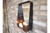 Black Metal Frame Beautiful Industrial Mirror