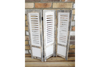 White Rustic Style Antique Room Divider/Shutter