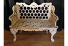 Attractive Wooden Horse Shoe Bench
