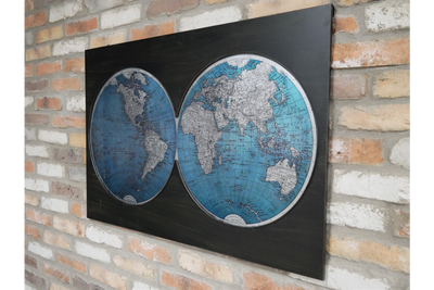 Map of the World Wall Decoration the whole world