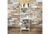 Rustic Wooden Decorative Ladder Bookcase