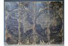 Giant Set of 4 World Map for exact location