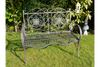 Shabby Chic Style Cracking Look 2 Seat Garden Bench
