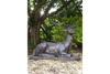 Life-Size Cast Iron Stag/Deer Garden Statue Ornament