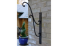Wrought Iron Black Bracket With Metal finish