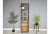 Gorgeous Industrial 3 Shelf Bookcase