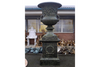 Vintage Old Verdi Finish Urn Planter