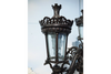 Simple Ornate Design Mini Outdoor Lamp Post