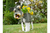 Metal Garden Ornament Yorkshire Terrier Planter