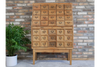 Crafted Wooden Multiple Drawer Large Storage Cabinet