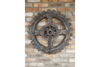 Fabulous Vintage Cog Wall Decoration