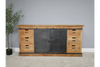 Brown Fabulous Large Industrial Style Sideboard