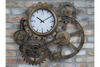 Cog Clock Style and time