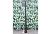 Copper Iron Made Black Medium Ladder Bar Lamp Post & Base