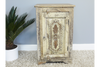 Vintage Distressed French Bedside Cabinet
