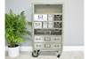 Metal Wire Grey Color Industrial Cabinet