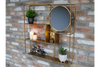 Wall Unit with Mirror high-quality decoration