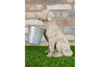 Sandstone Imitate Decorative Ornament Dog Carrying Pot