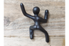 Little Cute Gorgeous Hand Crafted Naked Man Climbing Coat Hook