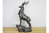 Bronzed Looking Gorgeous Stag On Plinth