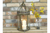 Beautiful Hexagonal Metal Glass Lantern