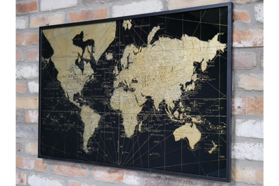 Map of the World Wall Decoration Entire Globe before you